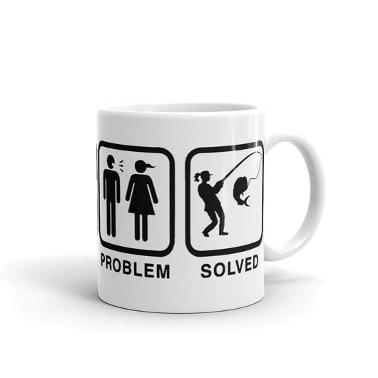 Hers - Problem Solved - Salty Cuban Mug