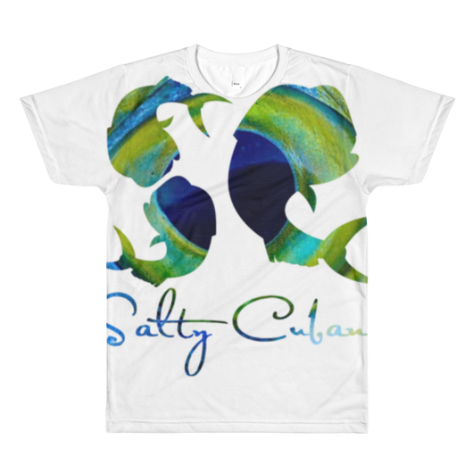 Salty Cubans-Mahi Sublimation men's crewneck t-shirt