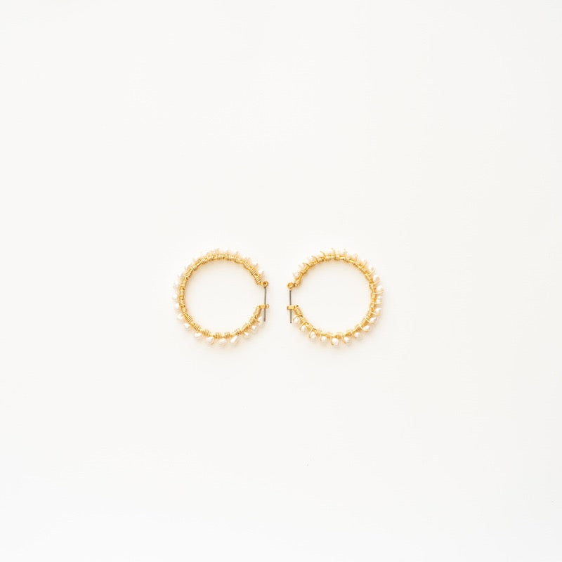 Stephanos 'Ersa' baby hoop earrings