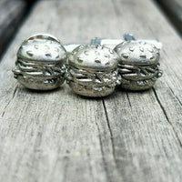 Gift Set - Cufflinks and Tie Tack, mmmm Burger