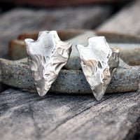 Arrowhead Pewter Cufflinks