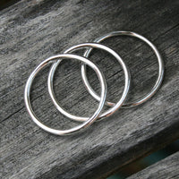 Sterling Silver Stacking Ring Set - Three Rings