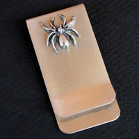 Money / Card Clip - Spider, Large