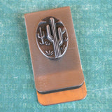 Money / Card Clip - Cactus, Large