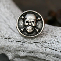 Tie Tack - Lapel Pin - Skull and Crossbones
