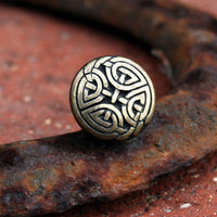 Tie Tack - Celtic Eternal Knot, Antique Gold Finish