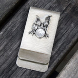 Money / Card Clip - Drums, Large