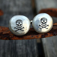 Cufflinks - Cuff Links - Skull and Crossbones