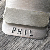 Customize your Money Clip