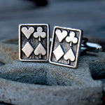 Cufflinks - Playing Card Suites