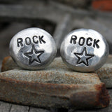 Cufflinks - Cuff Links - Rock Star