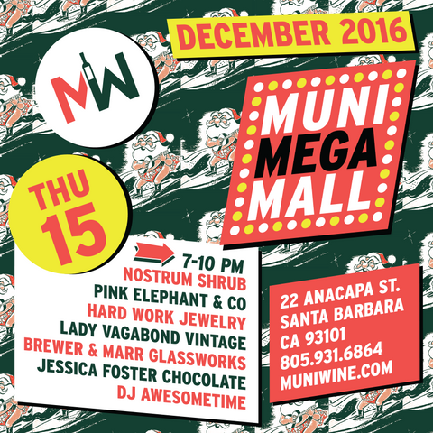 Municipal Winemakers Muni Mega Mall Holiday 2016