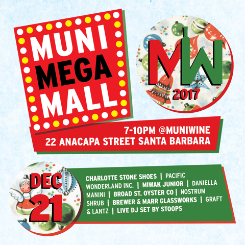 Municipal Winemakers Muni Mega Mall Holiday 2017