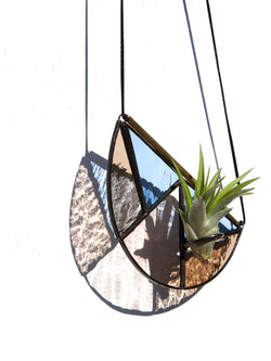 Half-Moon Hanging Air Plant Holder