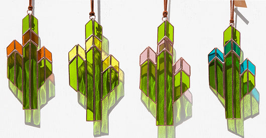 Striped Saguaro Sun Catcher