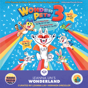 Wonderpets 3 Art Show + Art Sneak Peek