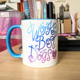 Works Best with Dogs - 11oz Mug