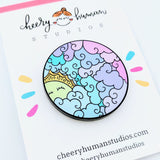 Beautiful Sunshine Day - Acrylic Pin