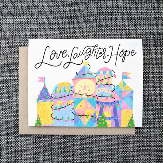 World of Hope Holiday - Greeting Card