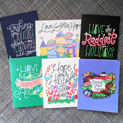 Assorted Holiday Card Pack - Greeting Cards