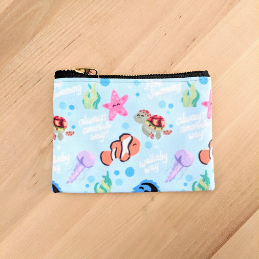 Fish Friends - Small Zip Pouch - 6