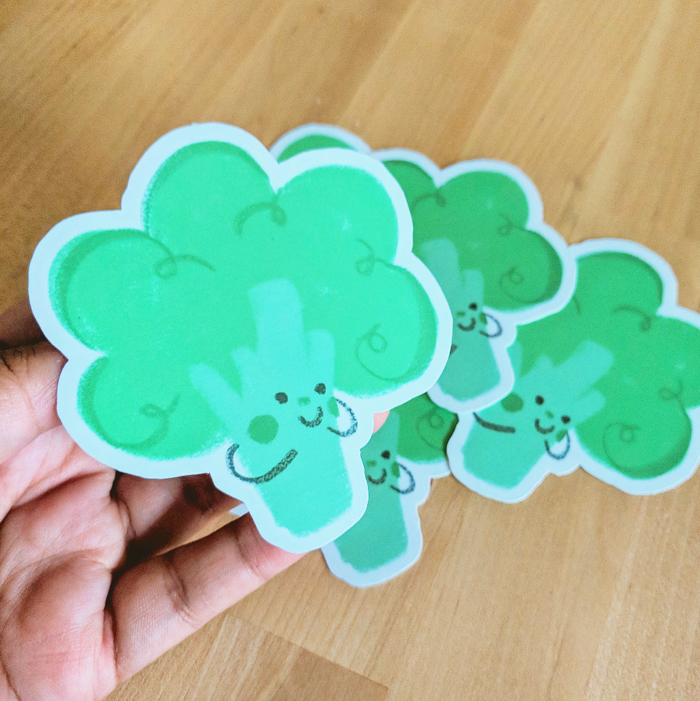 Veggie Friends - Vinyl Stickers