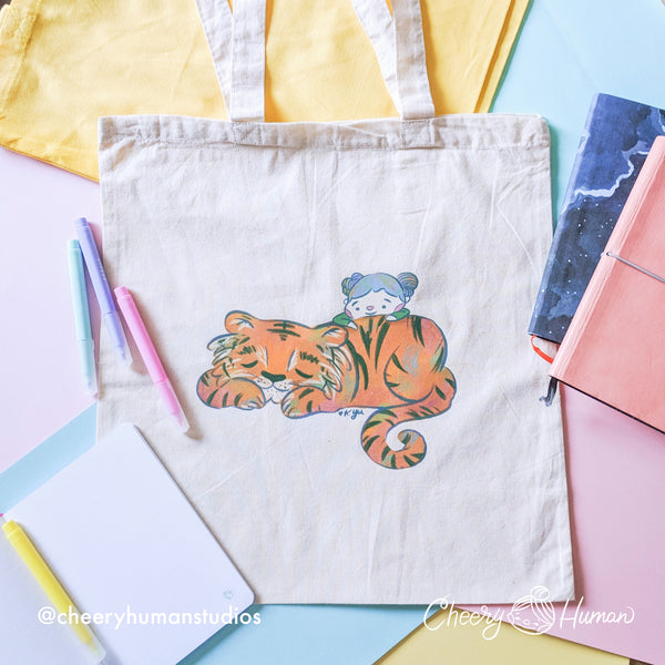 Tiger Friend - Tote Bag