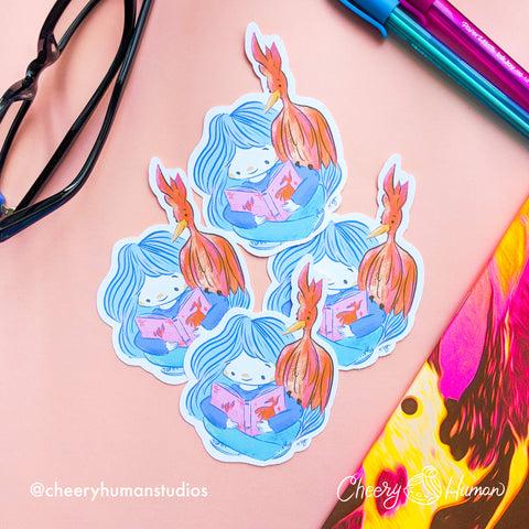 Phoenix Friend - Handmade Vinyl Sticker