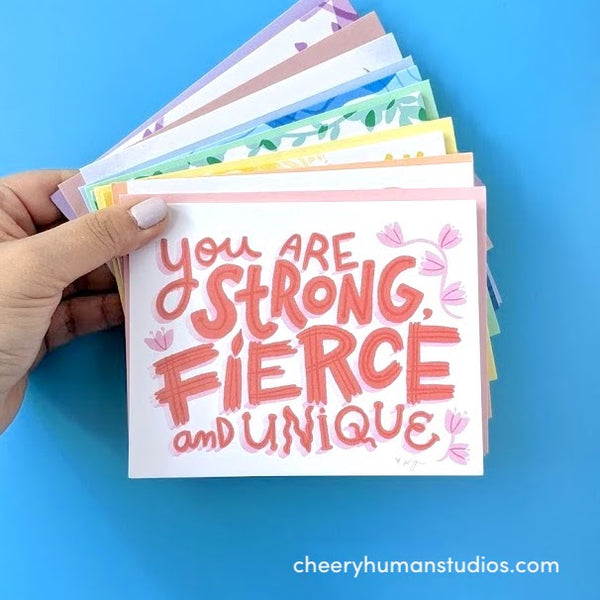 Everyday Pep Talk - Boxed Card Set  |  Encouraging Greeting Cards