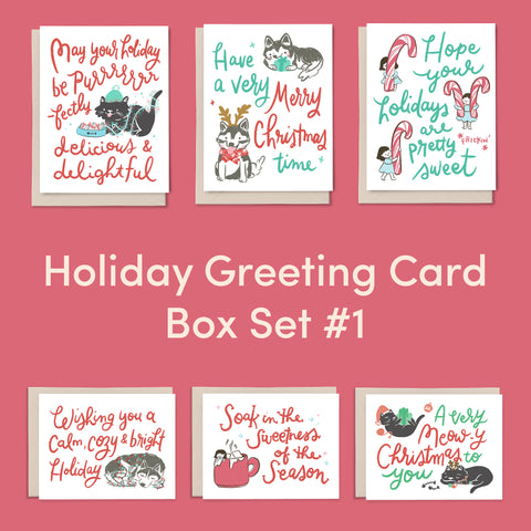 Holiday Greeting Card Box Set #1