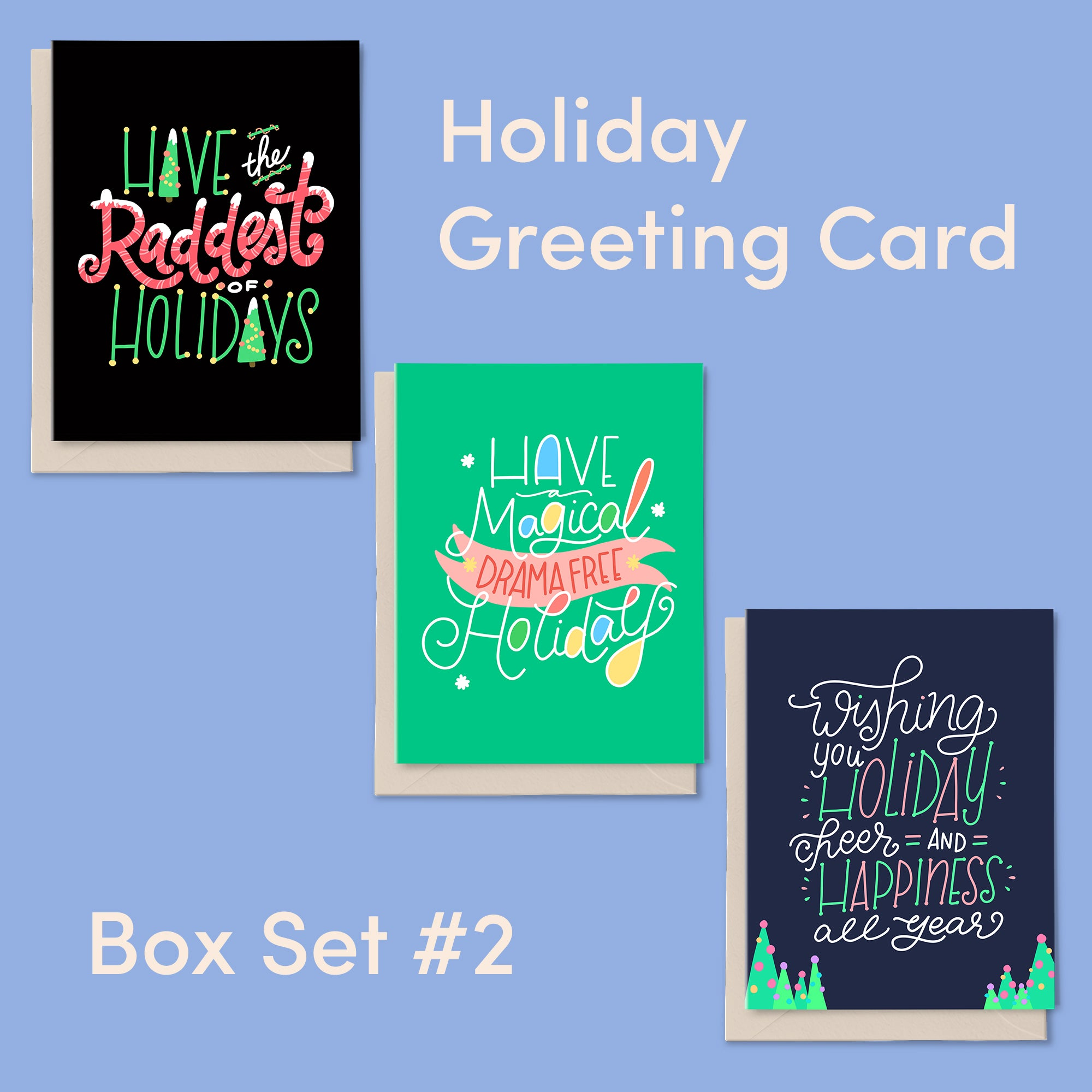 Holiday Greeting Card Box Set #2