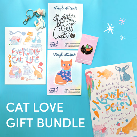 Cat Love Gift Bundle