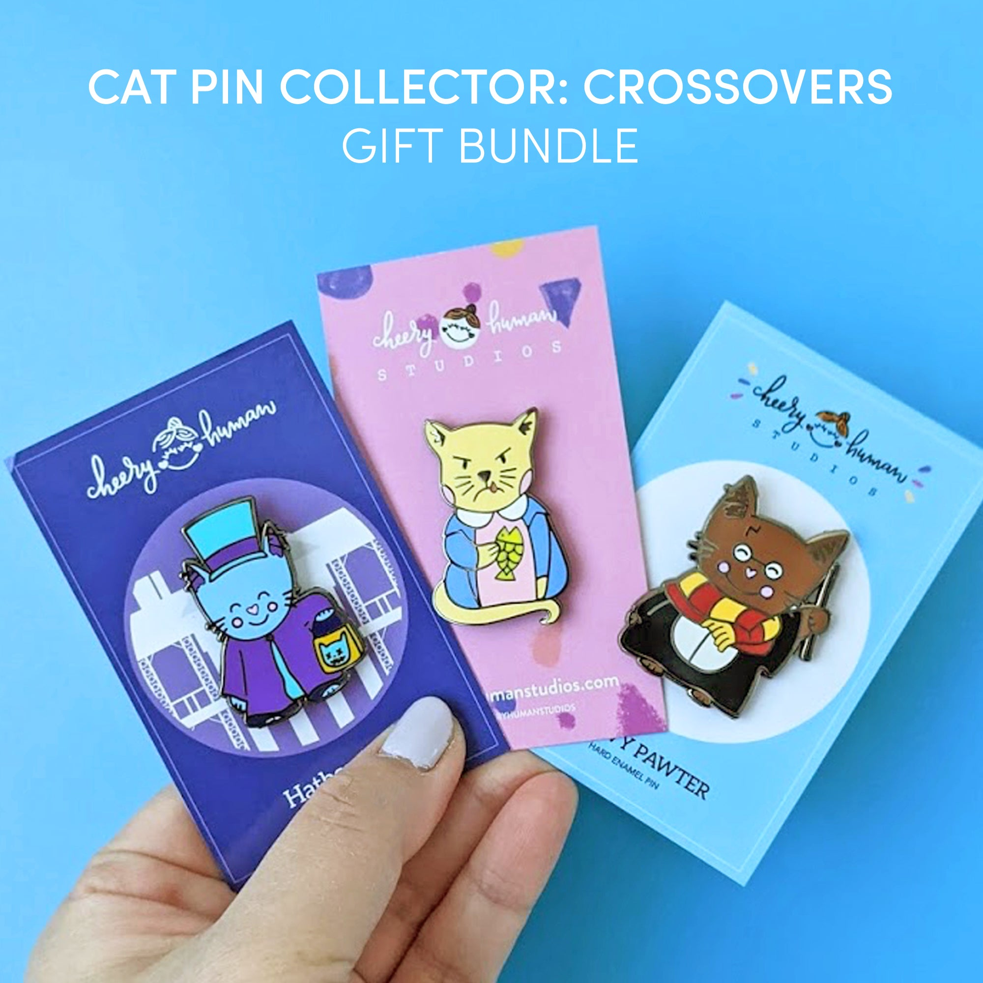 Cat Pin Collector: Crossovers - Gift Bundle