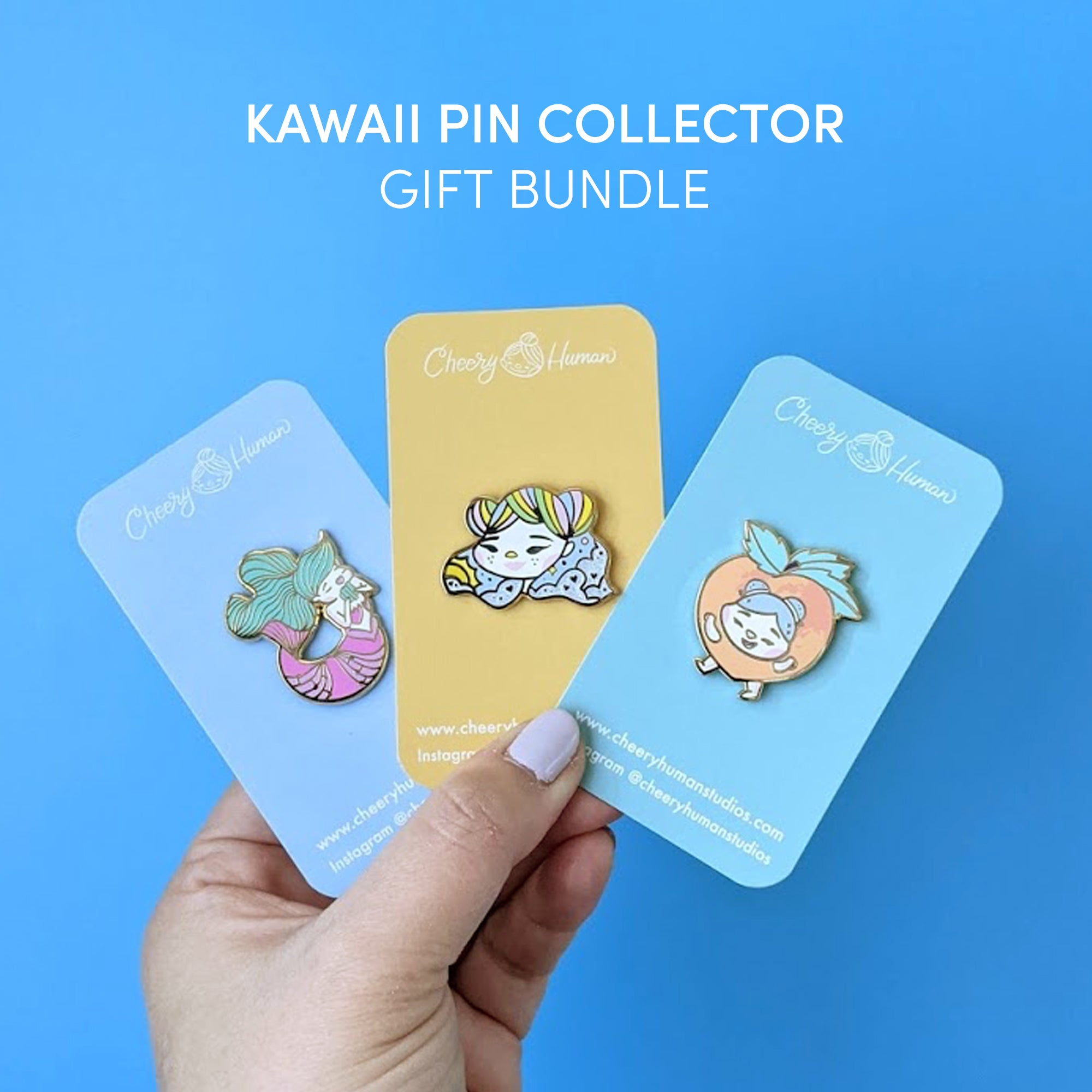 Kawaii / Cute Pin Collector: Crossovers - Gift Bundle