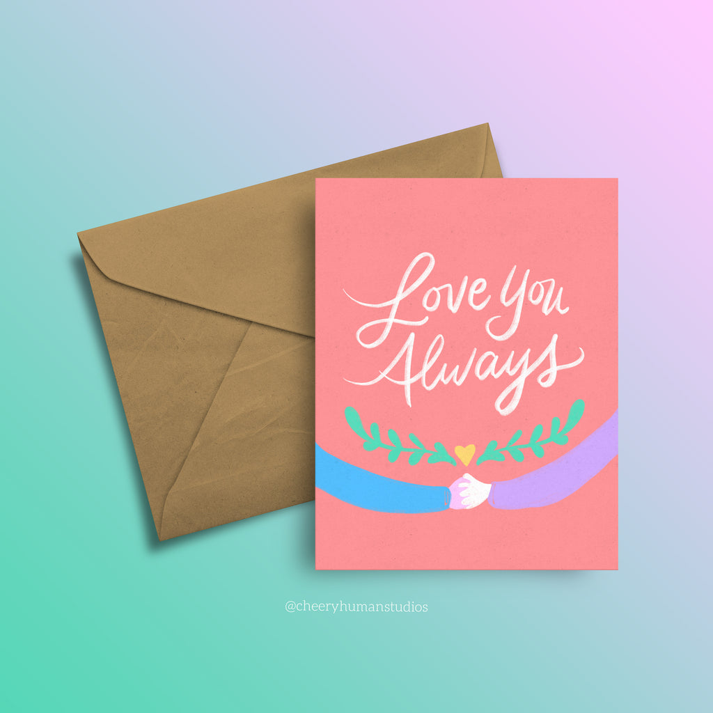 Love You Always - Greeting Card