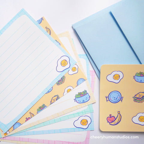 Meal Time - Notecard Letter Writing Set
