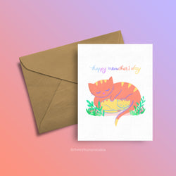 Meowther's Day - Greeting Card