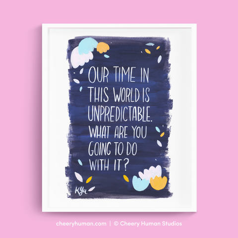 Our Time - Art Print