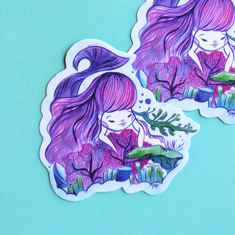 Reef Explorers - Handmade Vinyl Sticker