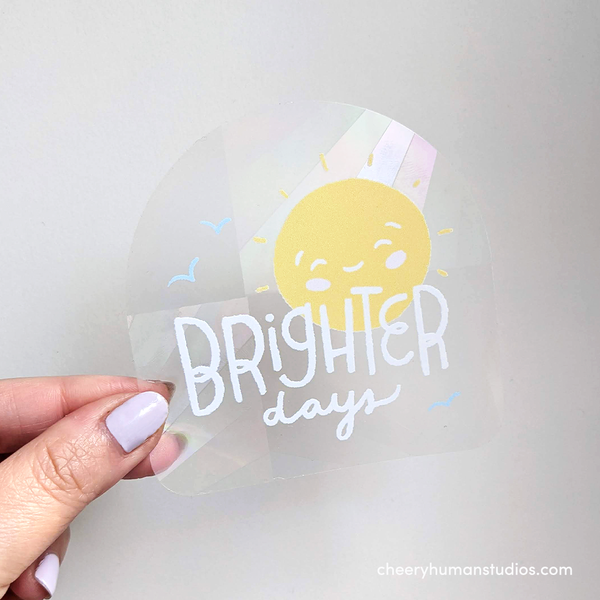 Brighter Days - Rainbow Suncatcher