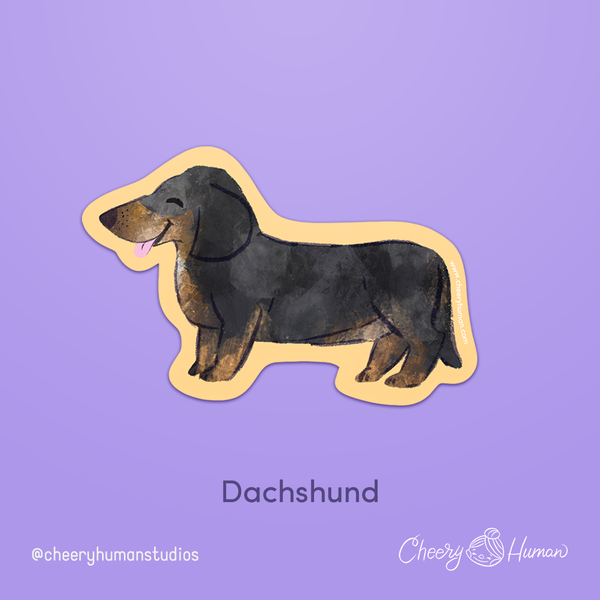 Dogs: Series 1 - Handmade Vinyl Stickers