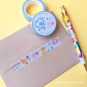 Cozy Cat Life - Washi Tape