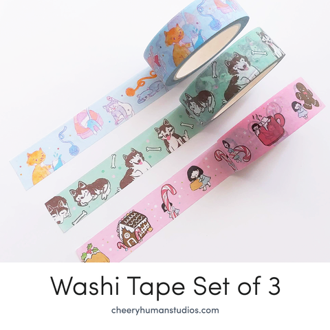 Washi Tape Bundle - Collection 1