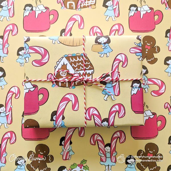 Holiday Treats Wrapping Paper