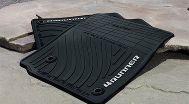 4Runner All-Weather Floor Liners - Toyota of Rockwall Parts