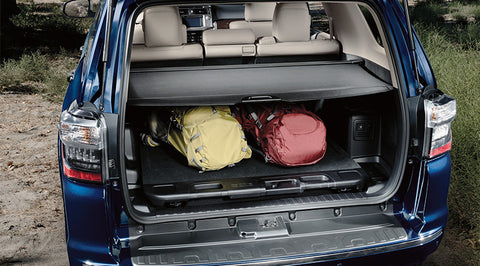 4Runner Retractable Cargo Cover - Toyota of Rockwall Parts