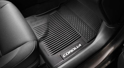 Corolla All-Weather Floor Mats - Toyota of Rockwall Parts