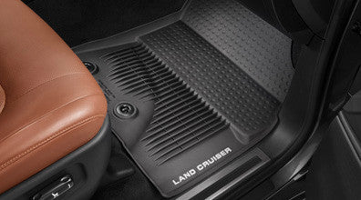 Land Cruiser All Weather Floor Liners - Toyota of Rockwall Parts