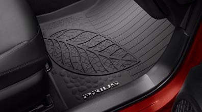 Prius All Weather Floor Liners - Toyota of Rockwall Parts