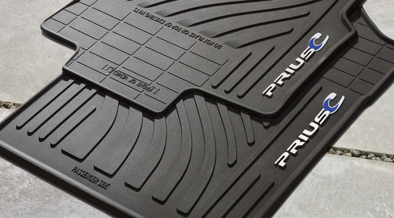 Prius c All Weather Floor Liners - Toyota of Rockwall Parts